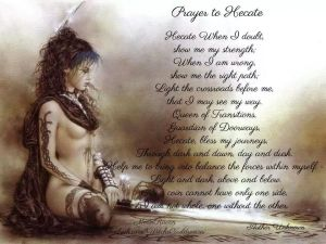 prayer hecate for balance