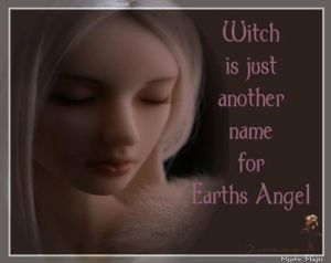 Witch Earth Angel