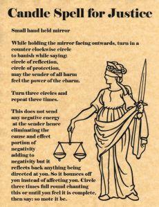 Justice Spell