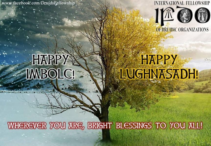 Happy Imbolc/ Lughnasadh